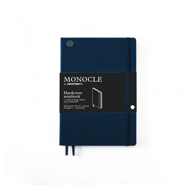 Libreta B5 Monocle Tapa Dura Azul Marino