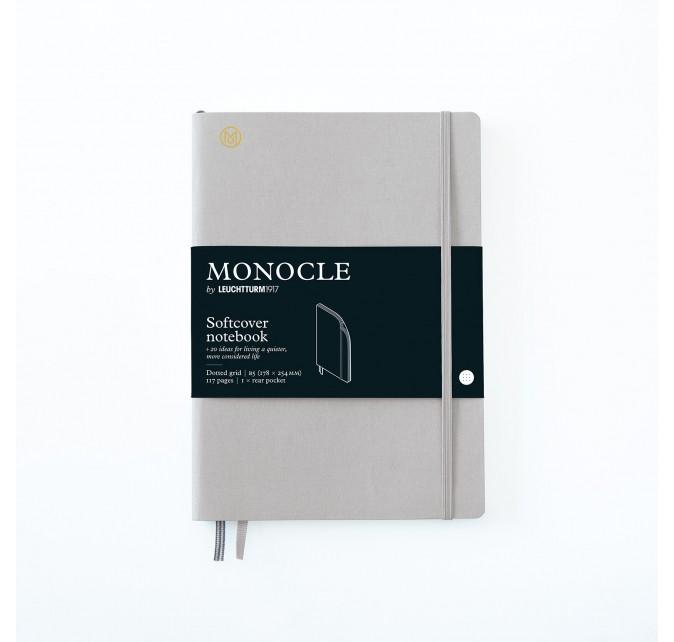 Libreta B5 Monocle Tapa Blanda Gris