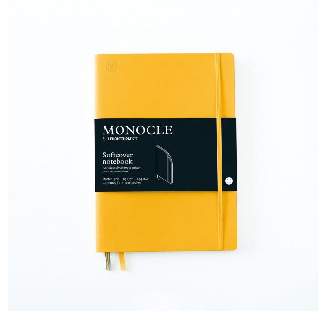 Libreta B5 Monocle Tapa Blanda Limón