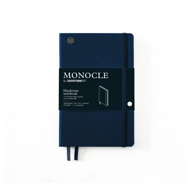 Libreta B6+ Monocle Tapa Dura Azul Marino