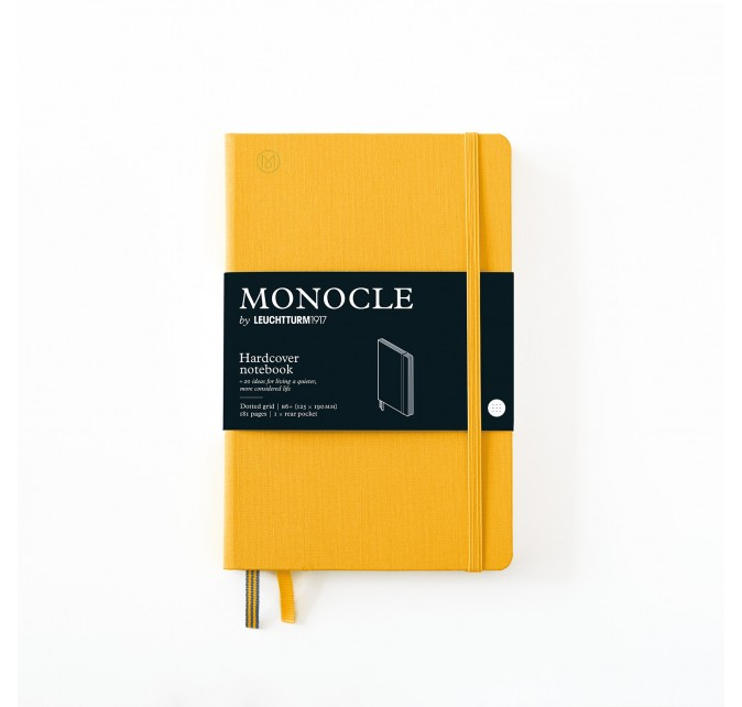 Libreta B6+ Monocle Tapa Dura Limón