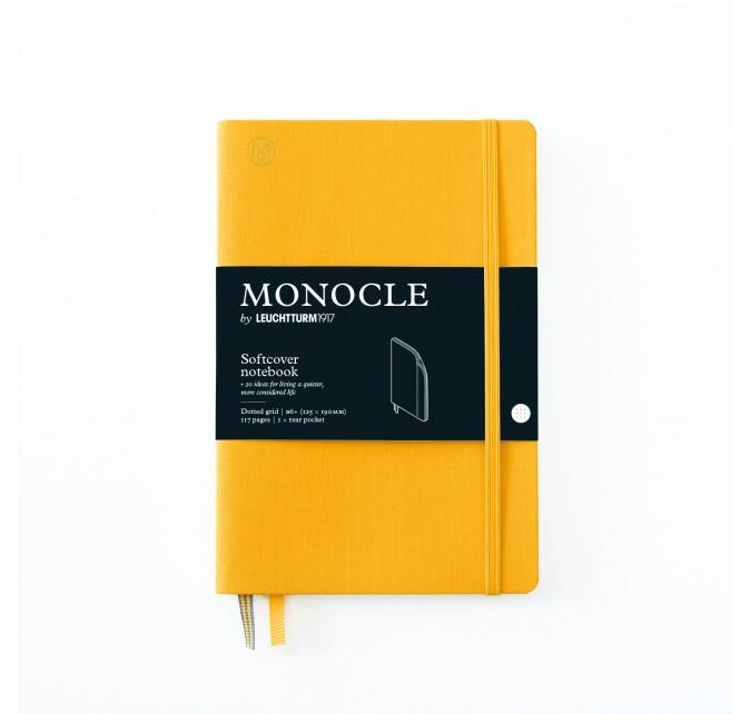 Libreta B6+ Monocle Tapa Blanda Limón