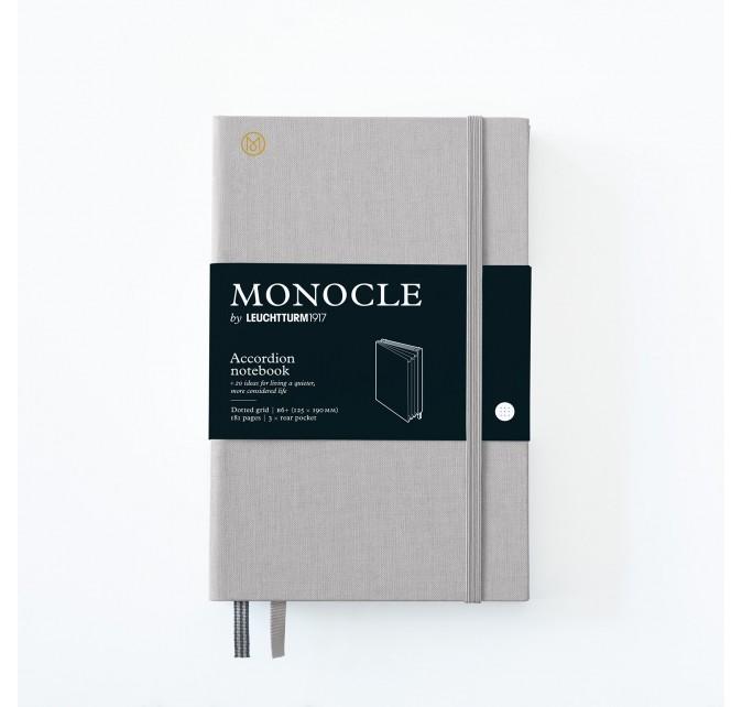 Wallet B6+ Monocle Gris