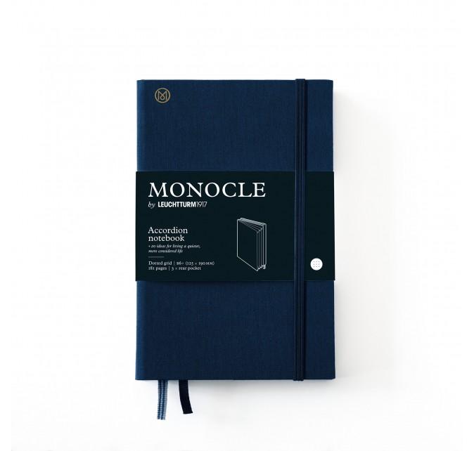 Wallet B6+ Monocle Azul Marino