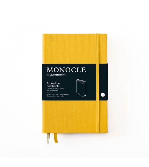 Libreta Acordeón B6+ Monocle Limón