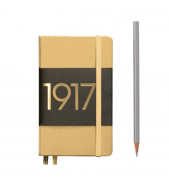 Notebook Metalica Pocket A6, tapa dura