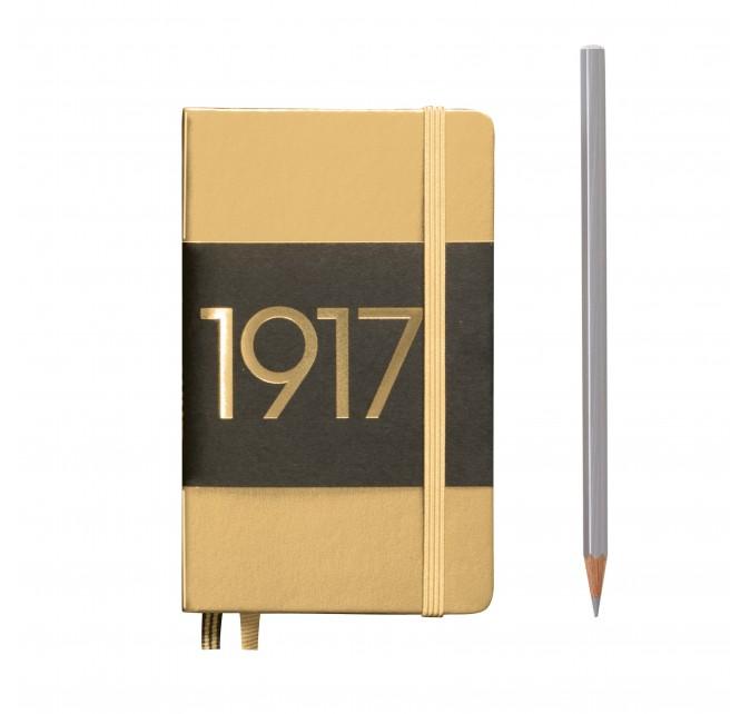 Notebook Metalica Pocket A6, tapa dura
