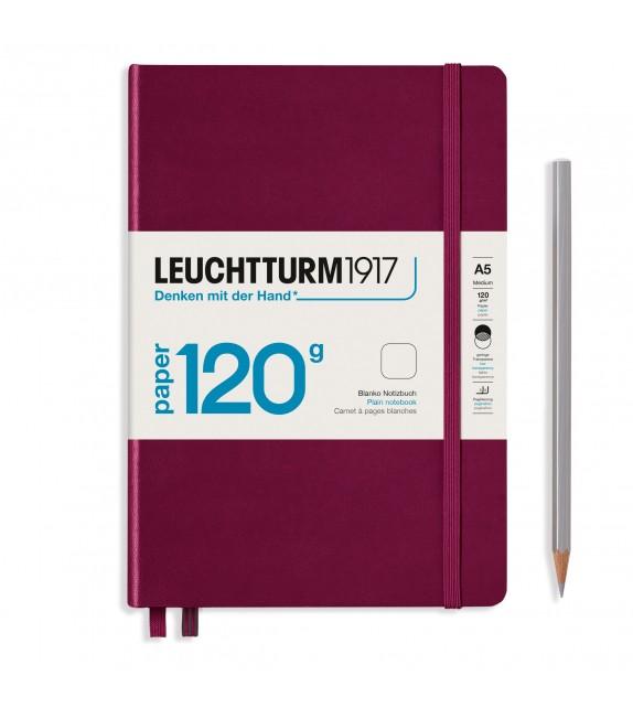 Notebook Medium 120g Port Red