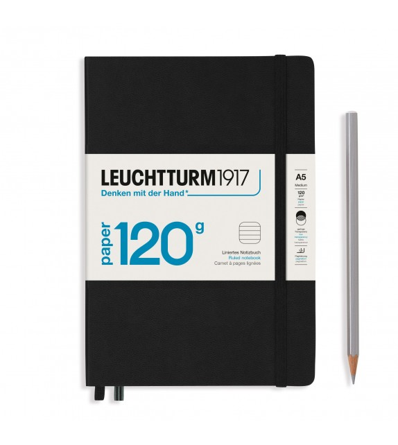 Notebook Medium 120g Negro