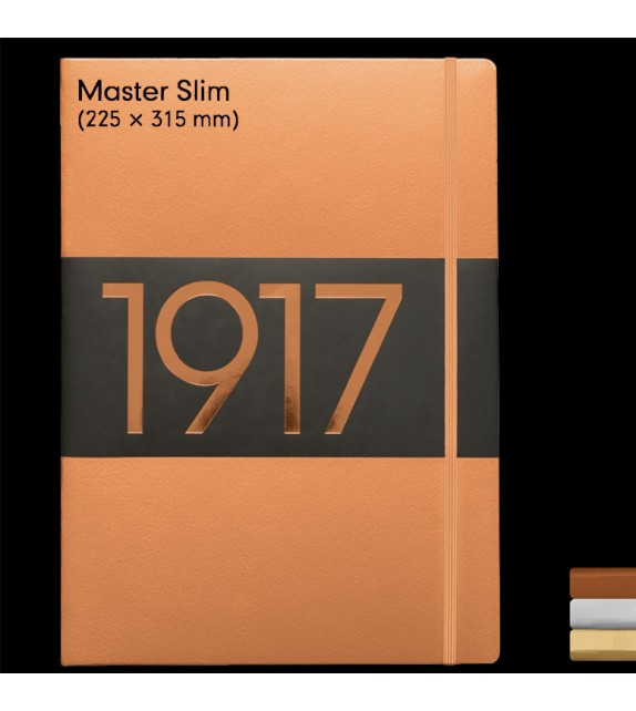 Libreta Master Slim metallic colors
