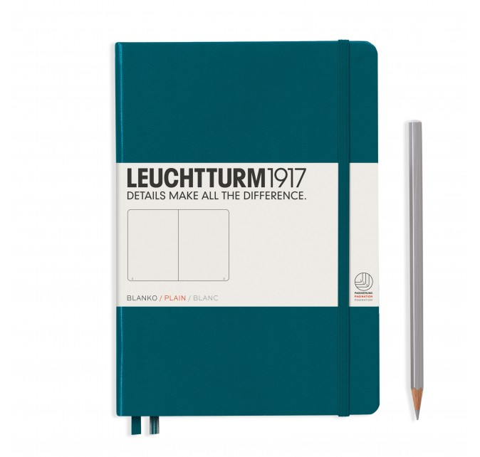 Libreta Medium Pacific Green